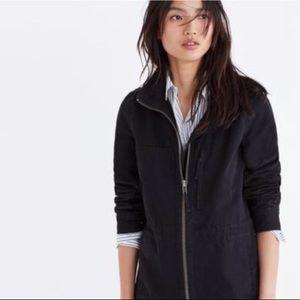 NWT Madewell Fleet Jacket in Washed Black